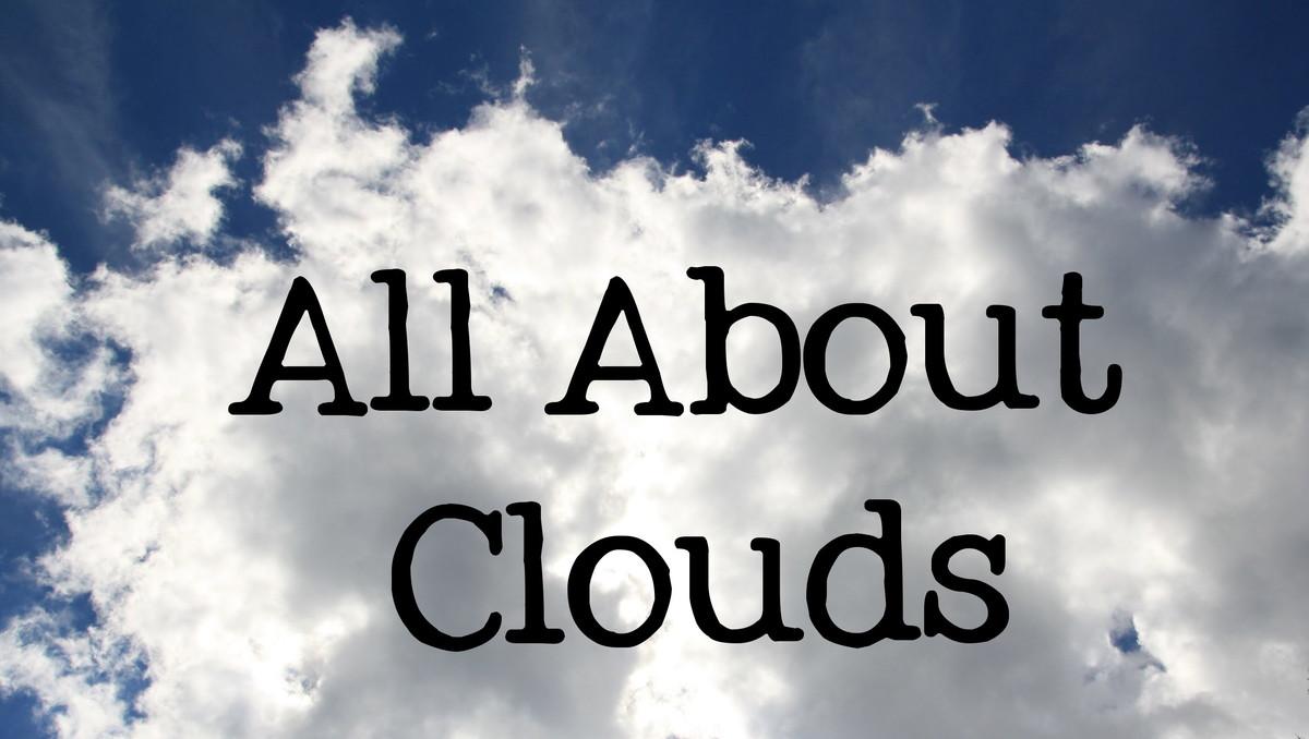 Пізнавальна лекція Види хмар