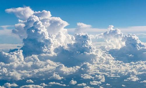 Різні види хмар