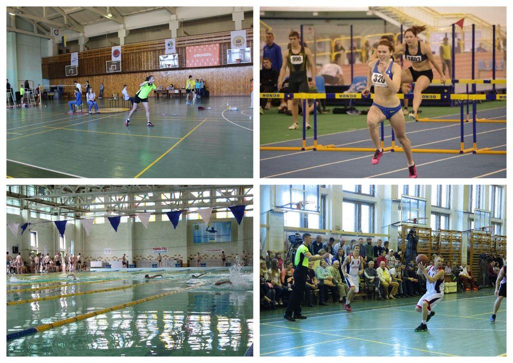 Змагання з загальної фізичної підготовки для школярів «Весняні старти»